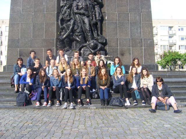 GaT-Schüler begeistert von Warschau