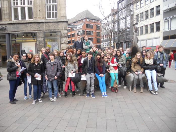 Pariser Schüler genossen ostfriesische Weite