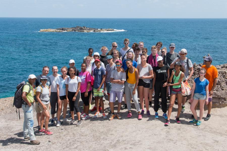 Max-Schüler begeistert vom Besuch auf Martinique