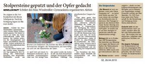 Bericht der Ostfriesen Zeitung
