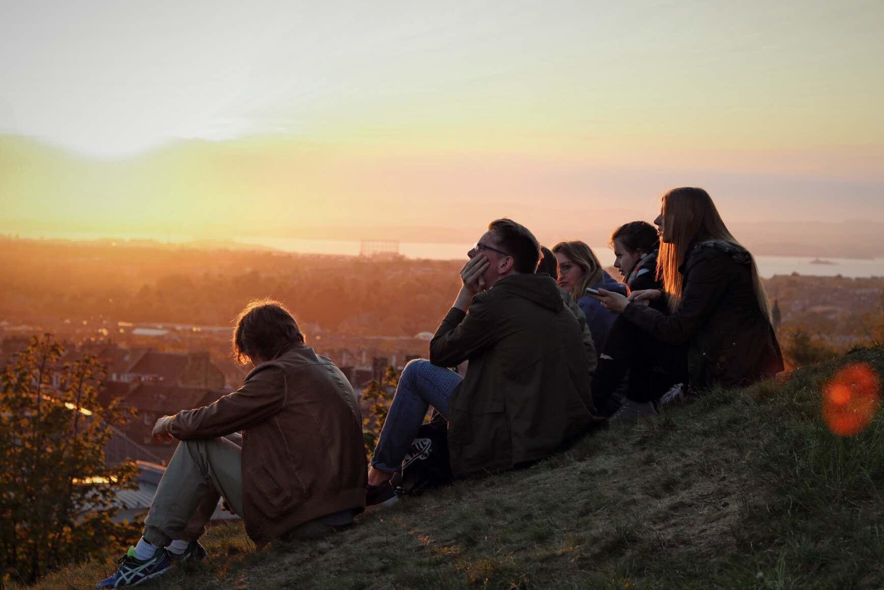 Class trip to Edinburgh (Scotland)