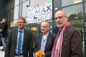 Max-Eröffnung Arie + Prof. Yaron Windmiller in Emden, Max-Windmüller-Gymnasium, 19.05 (28)