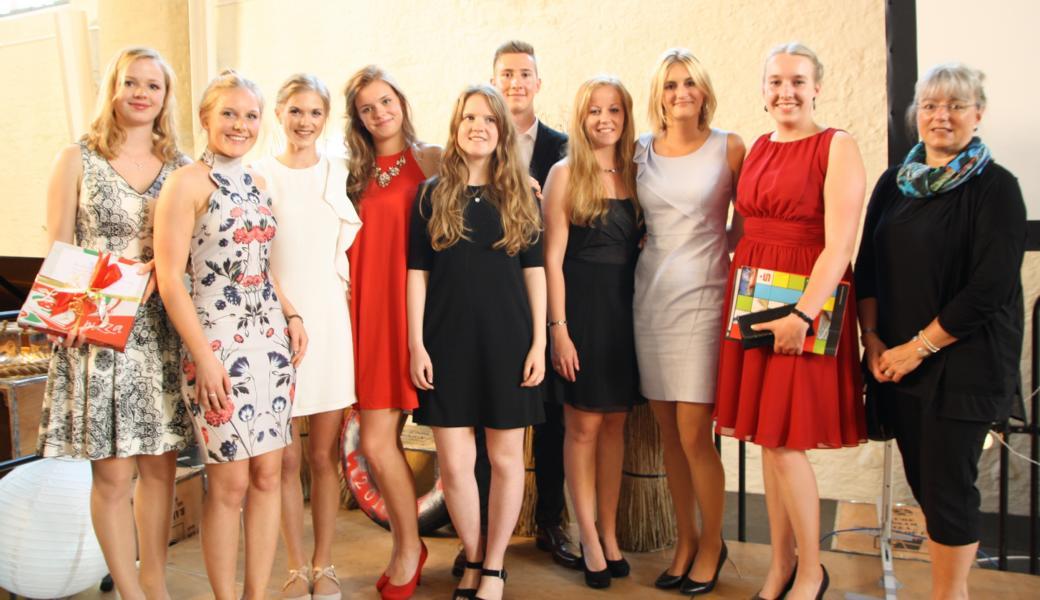 Max-Abiturienten wurden geehrt- Förderverein honorierte besonders gute Leistungen und soziales Engagement