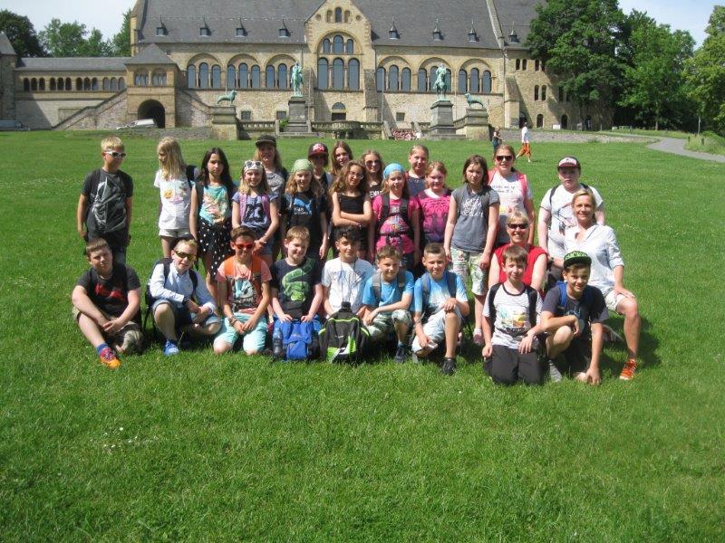Jahrgang 5 des vergangenen Schuljahres war im Harz!