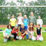 Fußball-AG Mädchen WK IV 2016-17