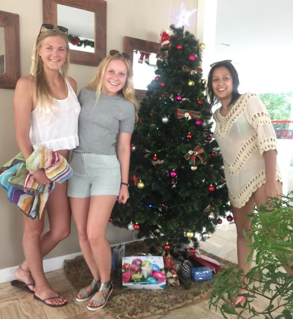 Feliz Natal e um feliz Ano Novo! – Die Abifriesen Lisa Fischer und Anneke Groeneveld berichten aus Brasilien