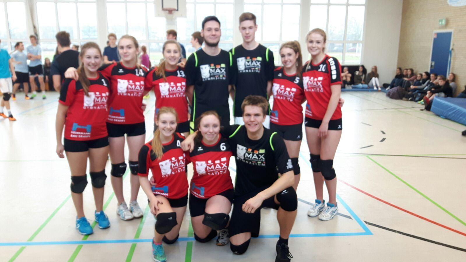 Max-Volleyballer belegten den 3. Platz