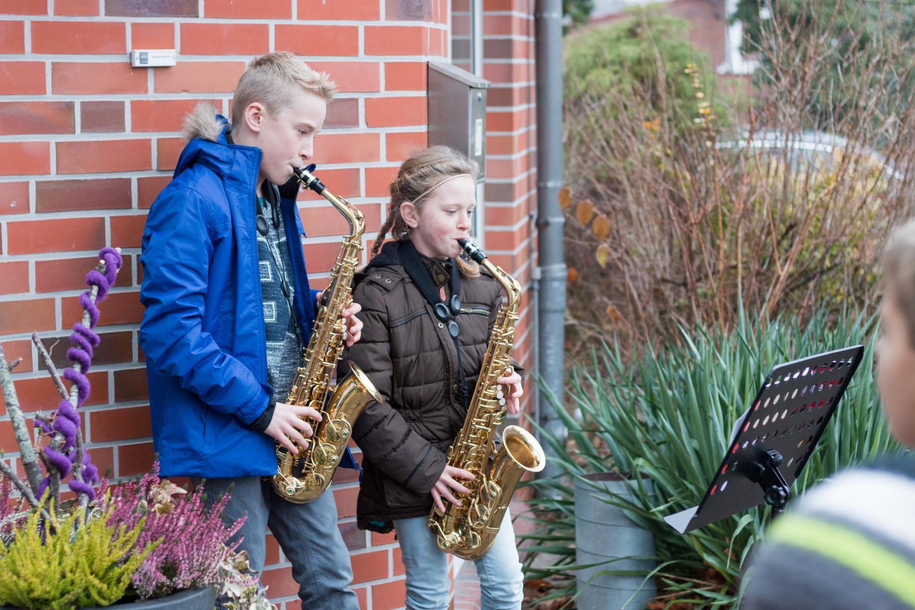 Saxophonklänge anstelle von Glockengeläut!