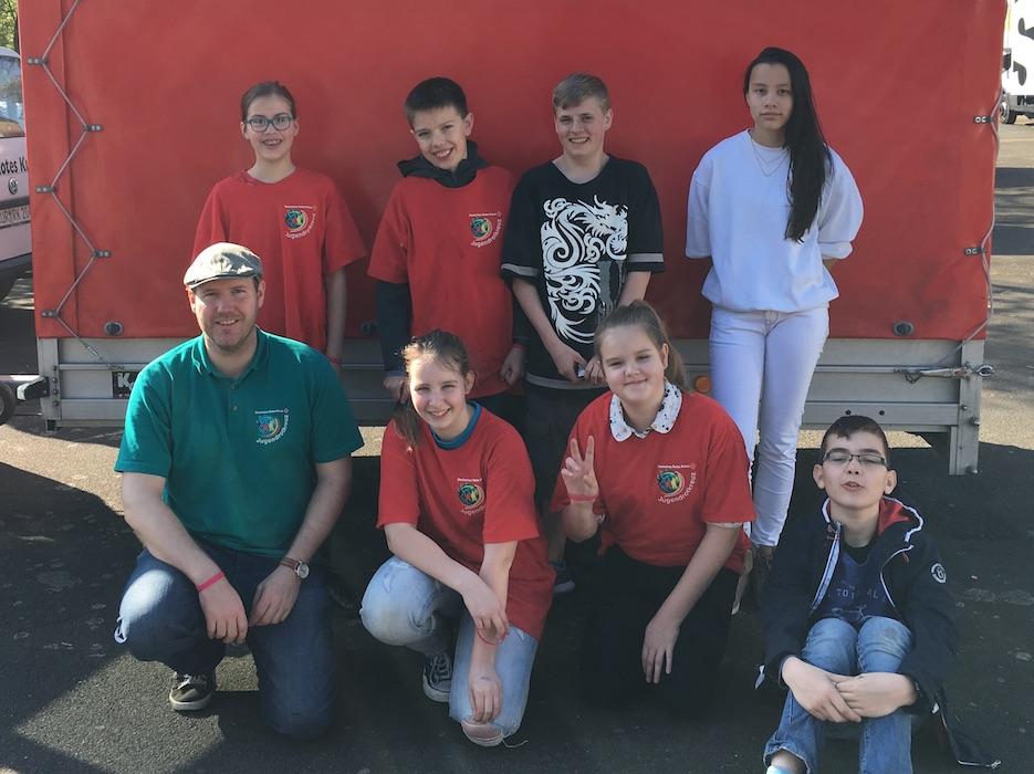 Schulsanitätsdienst nahm am Kreiswettbewerb des Jugendrotkreuzes in Leer teil