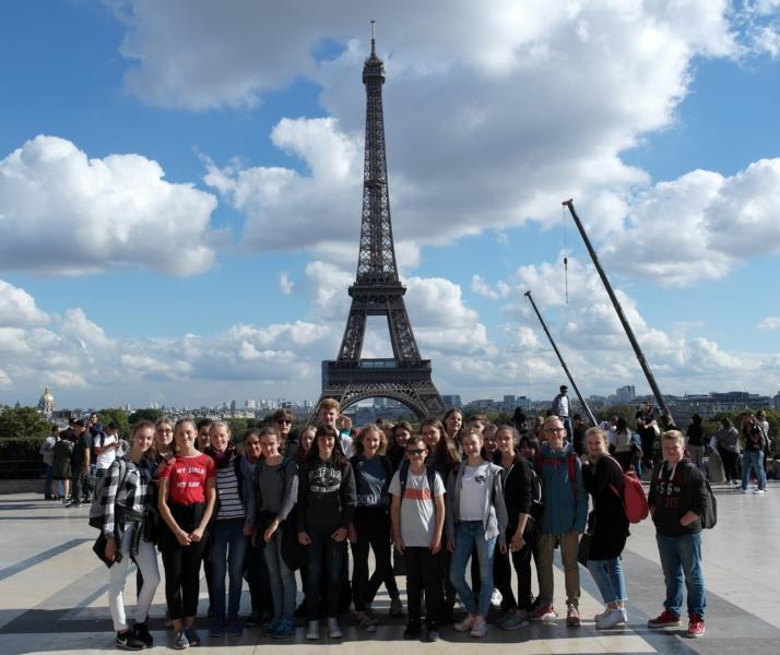 Max-Schüler zu Besuch in Paris