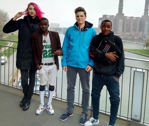 Schüler bei UNESCO-Projekt: Deutsch-Afrikanische Jugendakademie in Wolfsburg