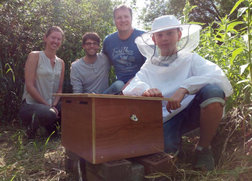 Damit das Summen nicht verstummt- Max nimmt an großem Hummel-Projekt der Universität Oldenburg teil