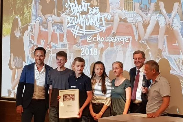 Baut Eure Zukunft – Max beim Bundesfinale in Berlin