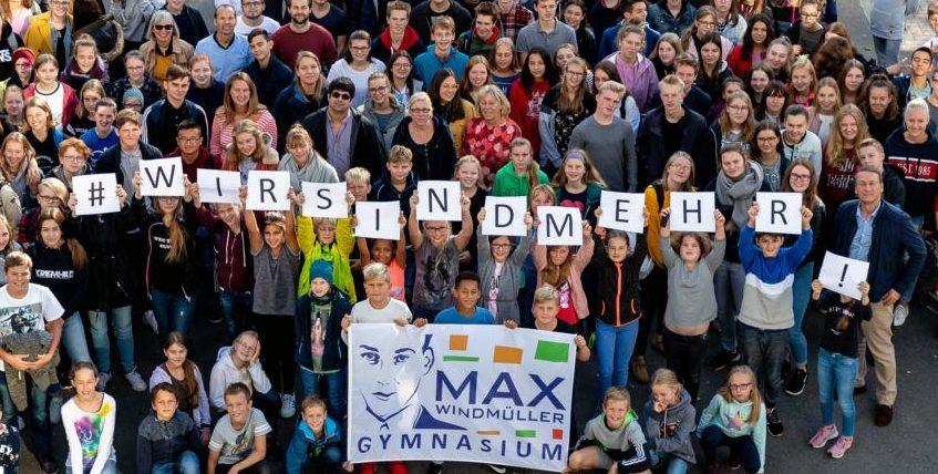Max und JAG unterstützen niedersachsenweite Aktion der UP-Schulen