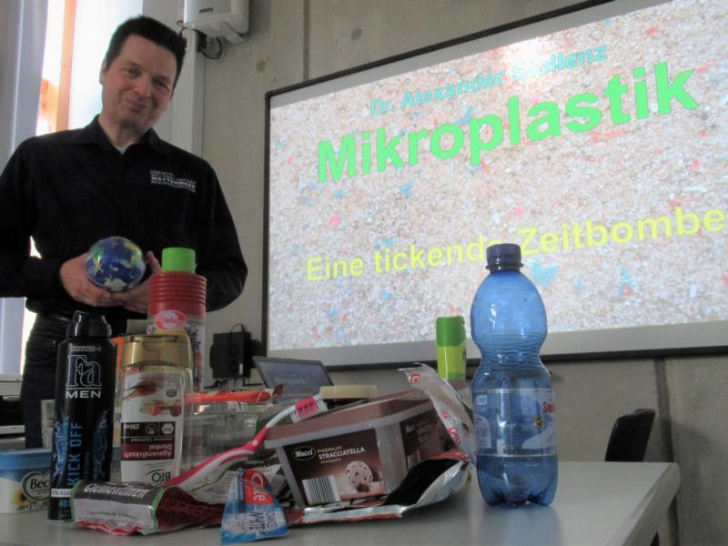 """""""Mikroplastik – eine tickende Zeitbombe"""""""