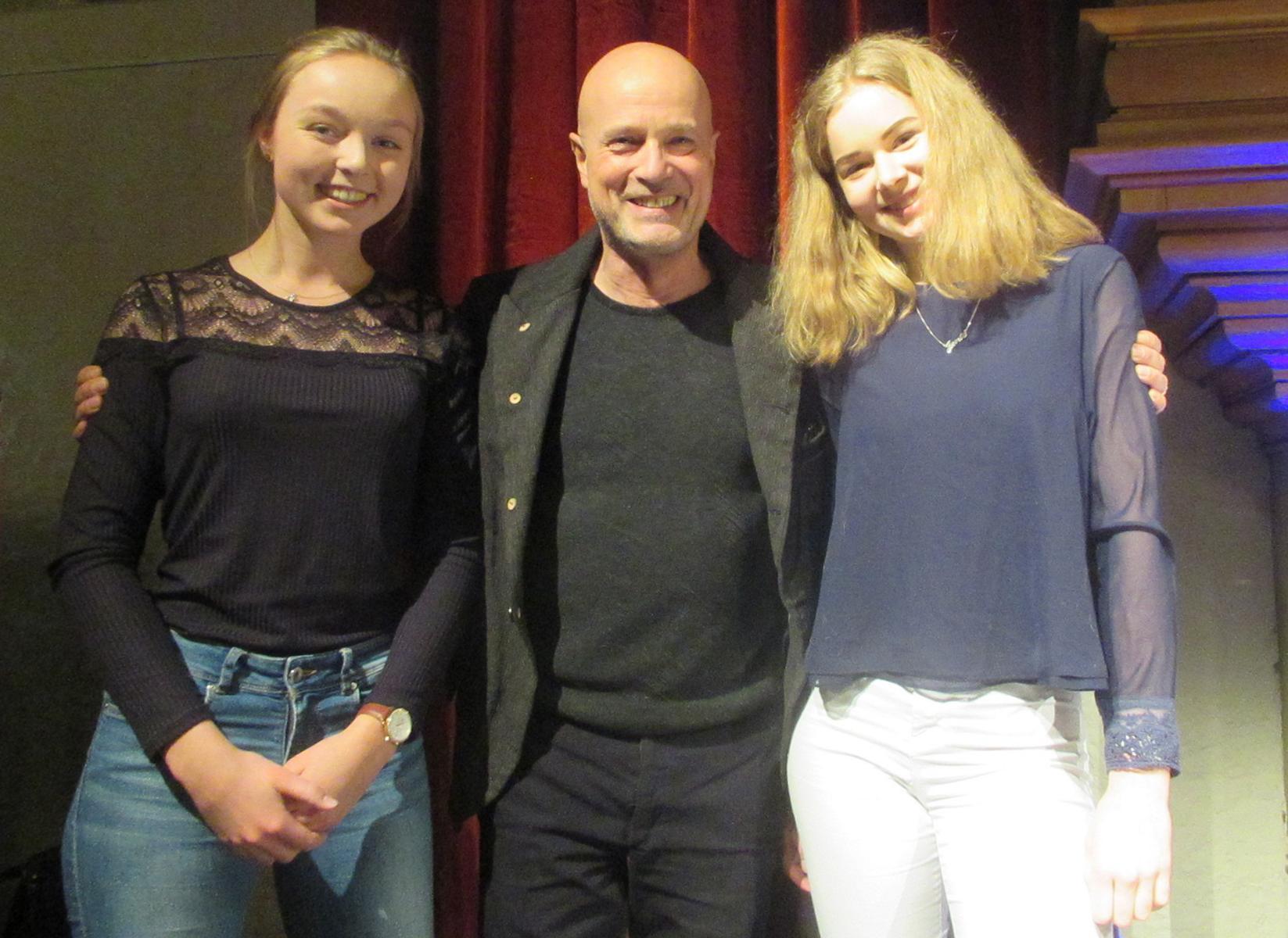 Max-Schülerinnen interviewten Schauspieler Christian Berkel