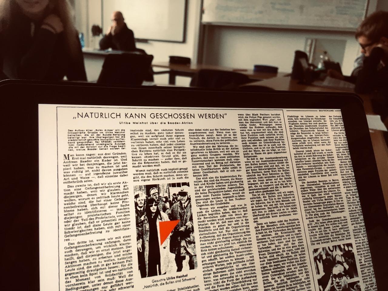"""""""Linksextremismus – was ist das?"""" – 10. Jahrgang des Max hatte Besuch aus Berlin-Hohenschönhausen"""