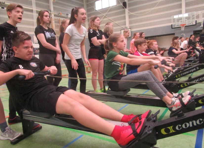 EWE-Rowing-Challenge sorgte wieder für Begeisterung- Doppelerfolg für Max-Klassen