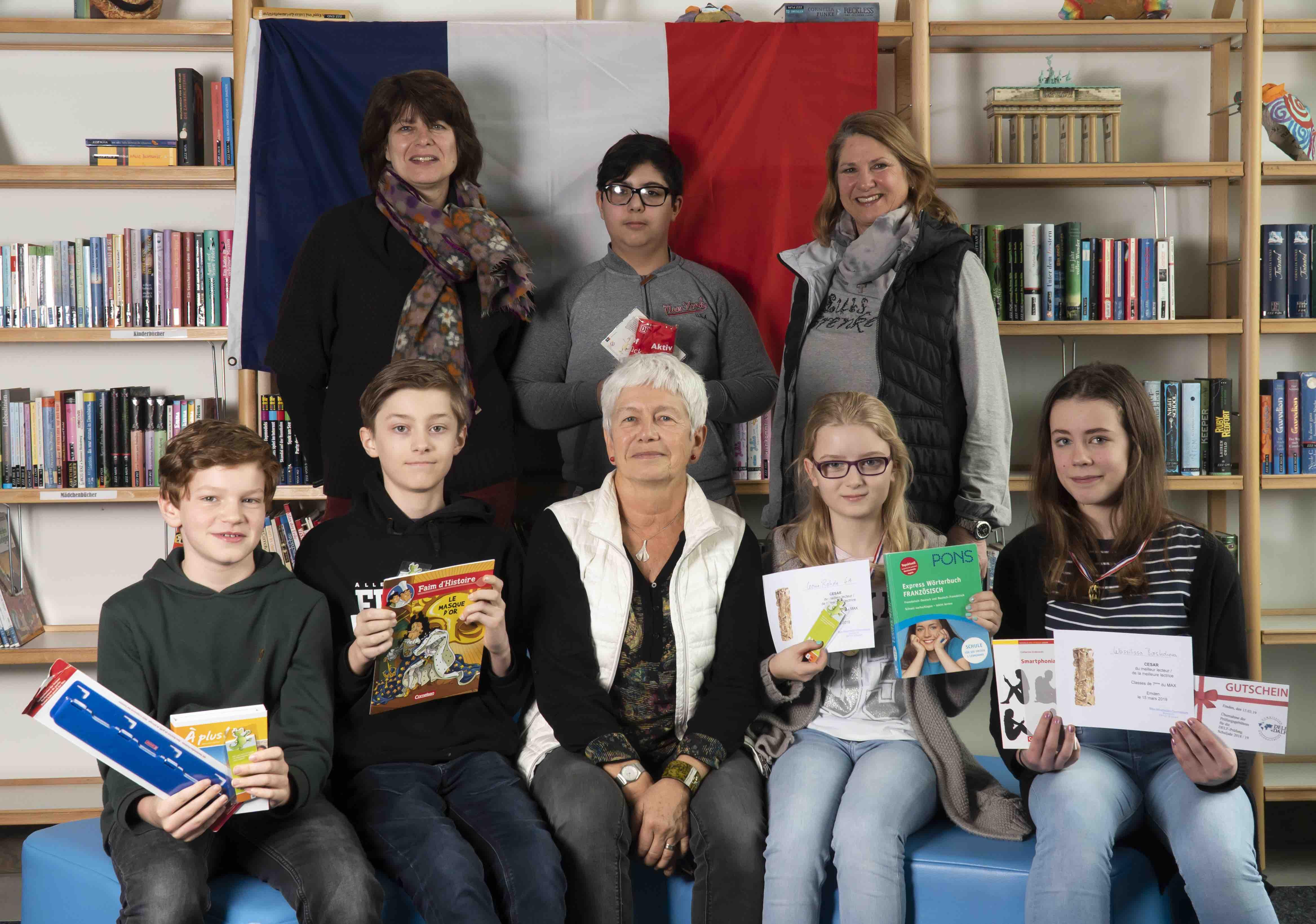 Lesewettbewerb Französisch