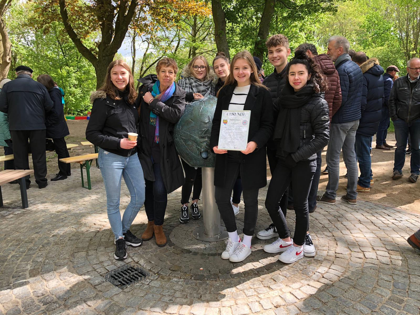 Bye Bye Plastic Bags übernimmt Patenschaft für Trinkwasserbrunnen