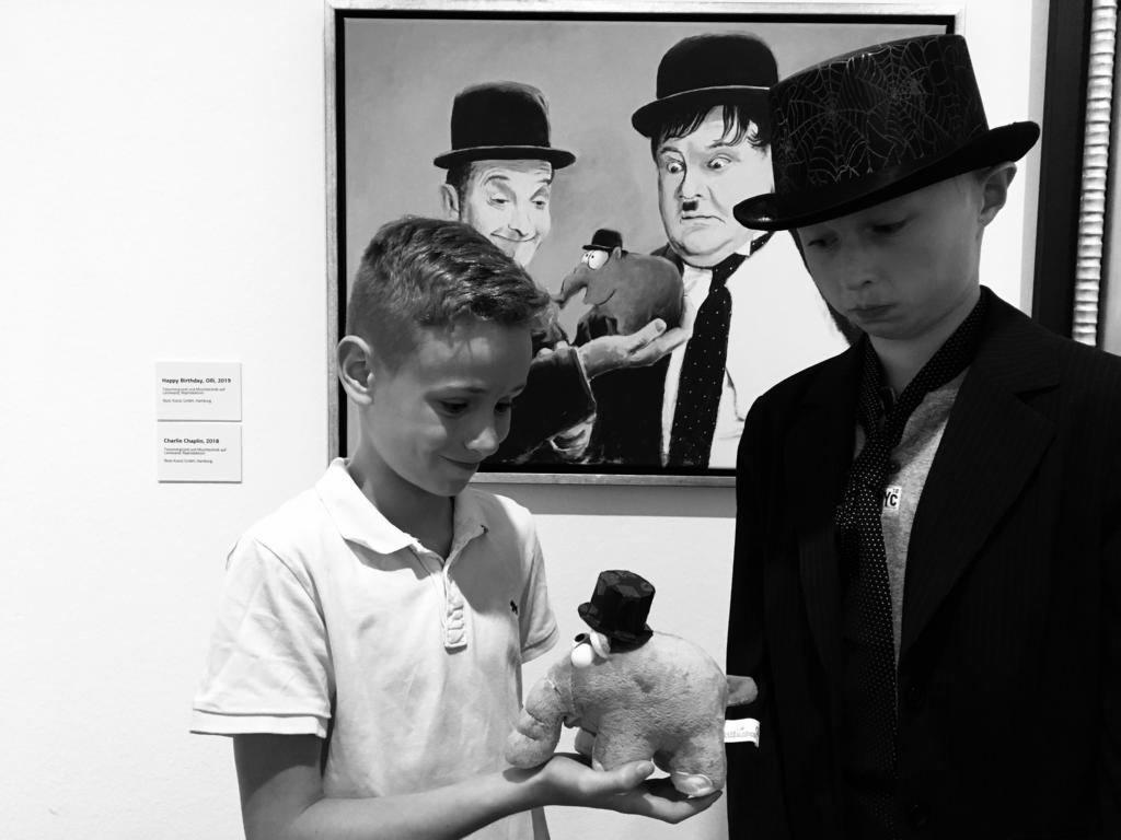 Zu Besuch in der Kunsthalle