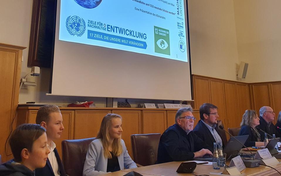 Klimarat stellt Händetrockner-Projekt im Schulausschuss vor