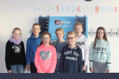 Starke Teilnahme am Wettbewerb Mathe-im-Advent