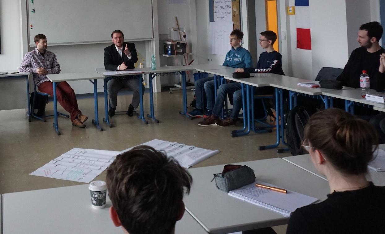 TALK mit TIM am Max-Windmüller Gymnasium