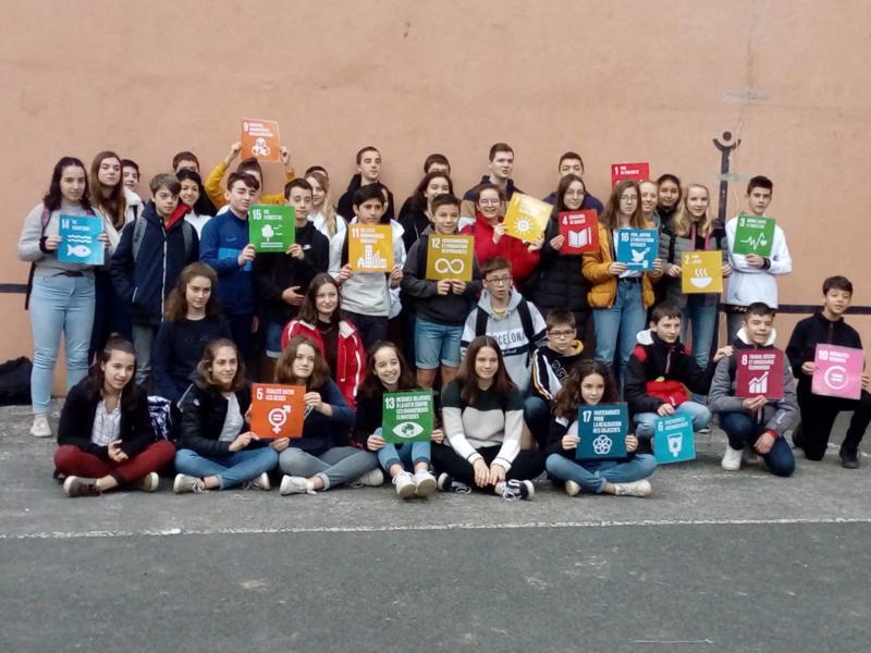 "Projekttreffen des Erasmus+ Projektes ""WebRadiODD"" in Saint Etienne de Baïgorry"