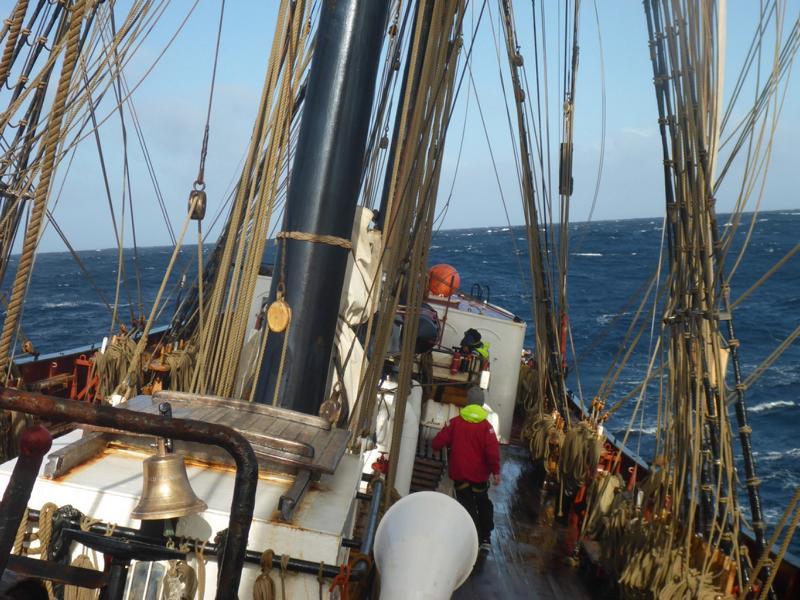 Sieben Monate Unterricht auf einem Segelschiff