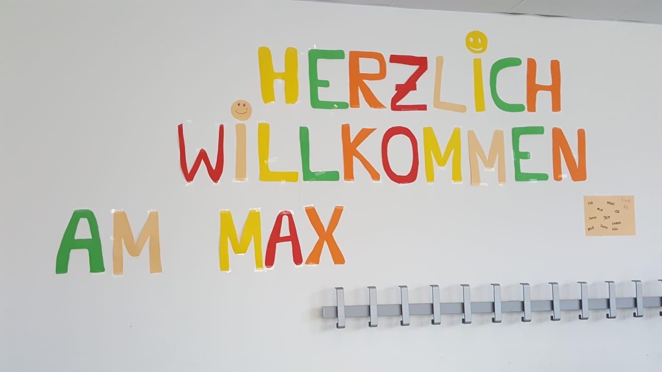 Herzlich willkommen am Max!