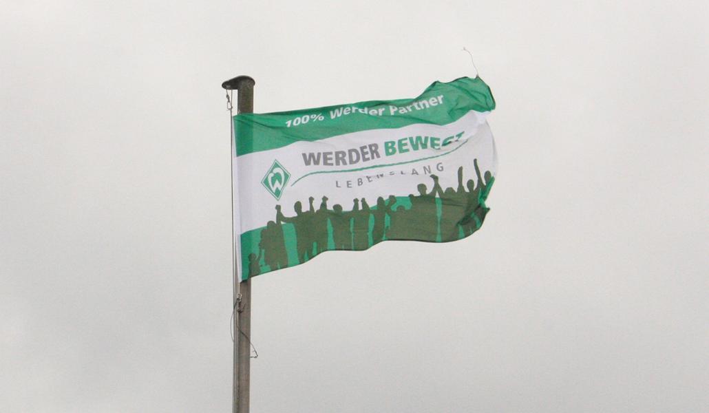 Max zeigt Flagge für Werder – viel Erfolg für die Relegation!
