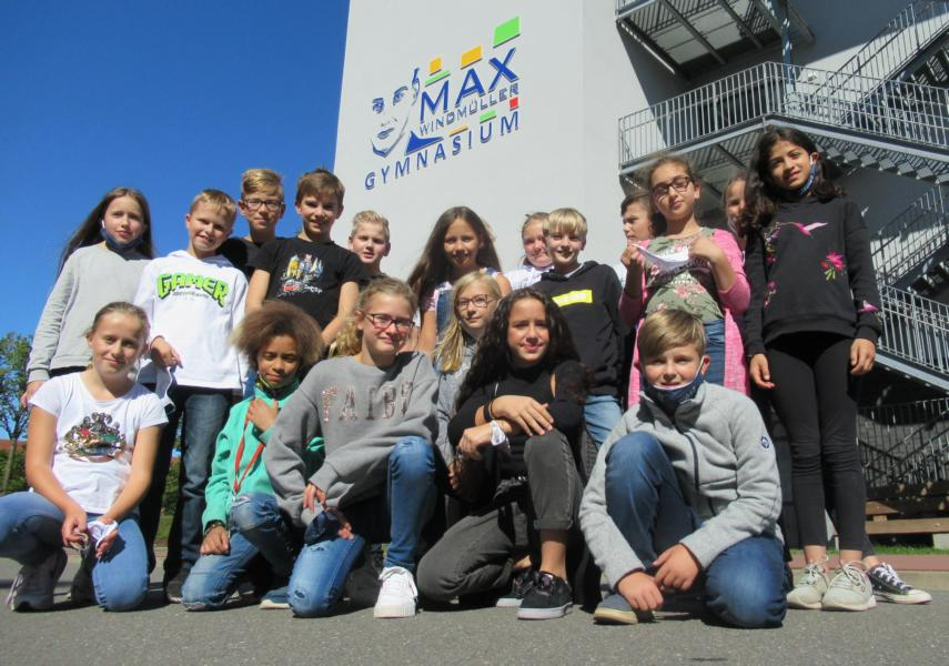 Herzlich willkommen! – Max begrüßt neue Fünftklässler