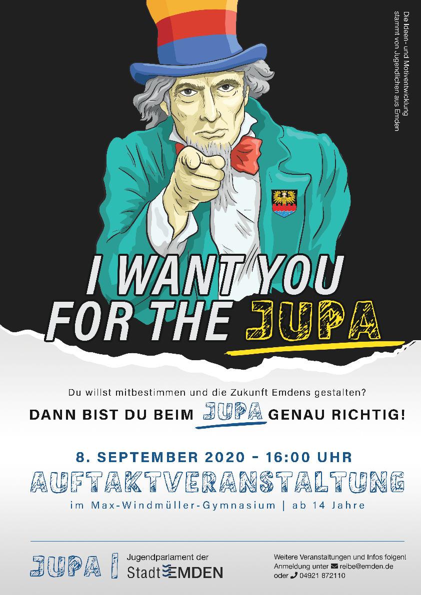 Jugendparlament: Jetzt zur Auftaktveranstaltung am 8.9.2020 am Max anmelden!
