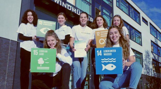 Bye Bye Plastic Bags-Gruppe wurde mit Sonderpreis beim BundesUmweltWettbewerb ausgezeichnet