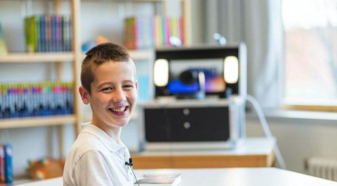 Max-Bibliothek wurde für Niklas Eilers zum Fernsehstudio!