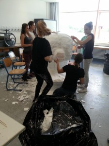 Kunst Eisbär 20160616 121710