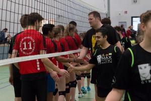 Schüler_Lehrer Volleyball
