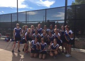Tennis Team, Moapa Valley Lady Pirates Tennis