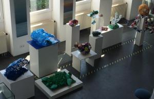 Plastikmüll-Ausstellung
