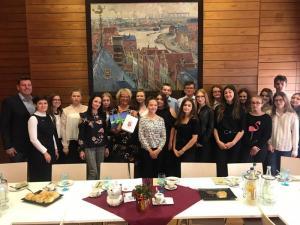Polen-Austausch 2018 Besuch in Emden LR (2)